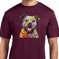 Beware of Pit Bulls Mens Moisture Wicking Shirt