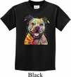 Beware of Pit Bulls They Will Steal Your Heart Kids Shirt