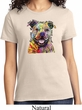 Beware of Pit Bulls They Will Steal Your Heart Ladies Shirt