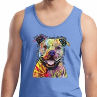 Beware of Pit Bulls They Will Steal Your Heart Mens Tank Top