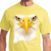 Big Bald Eagle Face Shirts