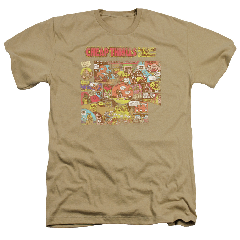 Big brother and the holding company shirt cheap thrills for Cheap company t shirts