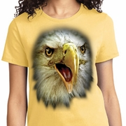 Big Eagle Face Ladies Shirts