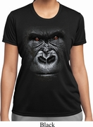 Big Gorilla Face Ladies Shirts