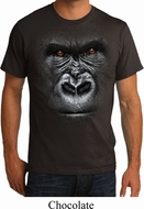 Big Gorilla Face Mens Shirts