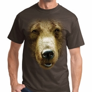 Big Grizzly Bear Face Shirts