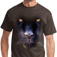 Big Panther Face Mens Shirts