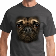 Big Pug Face Mens Shirts