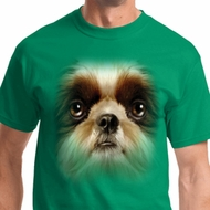 Big Shih Tzu Face Mens Shirts