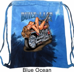 Biker Bag Built To Last Tie Dye Bag