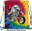 Biker Bag Eagle Biker Tie Dye Bag