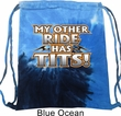 Biker Bag My Other Ride Tie Dye Bag