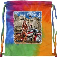 Biker Bag Sturgis Indian Tie Dye Bag