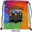 Biker Bag Who Let The Hawgs Out Tie Dye Bag