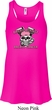 Bikers Against Breast Cancer Ladies Flowy Racerback Tanktop