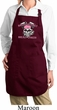 Bikers Against Breast Cancer Ladies Full Length Apron with Pockets