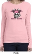 Bikers Against Breast Cancer Ladies Long Sleeve Shirt
