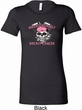 Bikers Against Breast Cancer Ladies Longer Length Shirt