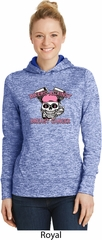 Bikers Against Breast Cancer Ladies Moisture Wicking Hoodie