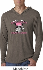 Bikers Against Breast Cancer Lightweight Hoodie Shirt