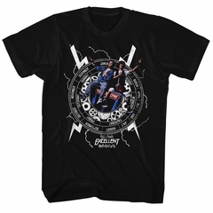 Bill And Ted Shirt Back To Time Black Tee T-Shirt