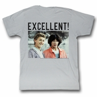 Bill And Ted Shirt Be Excellent! Athletic Heather Tee T-Shirt