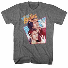 Bill And Ted Shirt Bogus Journey Athletic Heather T-Shirt