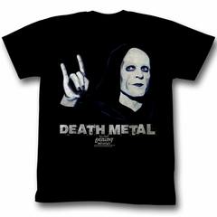 Bill And Ted Shirt Death Metal Black Tee T-Shirt