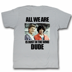 Bill And Ted Shirt Dustin T. Wind Grey Heather Tee T-Shirt