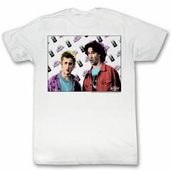 Bill And Ted Shirt Flyin White Tee T-Shirt