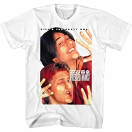 Bill And Ted Shirt Party On Whoa Dude Pressed Hams White T-Shirt