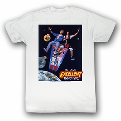 Bill And Ted Shirt Poster White Tee T-Shirt