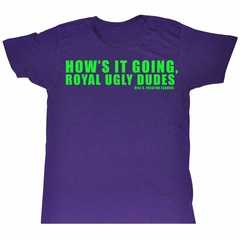 Bill And Ted Shirt Ugly Purple Tee T-Shirt