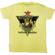 Bill And Ted Shirt WS Yellow Tee T-Shirt