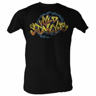 Bill And Ted Shirt Wyld Stallyns 3 Black Tee T-Shirt