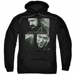 Billions Hoodie Currency Poster Black Sweatshirt Hoody