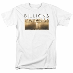 Billions Shirt Golden City White T-Shirt