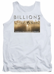 Billions Tank Top Golden City White Tanktop