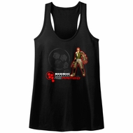 Bionic Commando Juniors Tank Top Rearmed Black Racerback