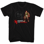 Bionic Commando Shirt Rearmed Black T-Shirt