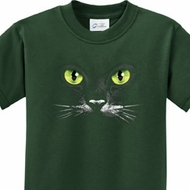 Black Cat Kids Halloween Shirts
