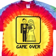 Black Game Over Premium Tie Dye Shirt