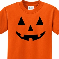 Black Jack O Lantern Kids Halloween Shirts