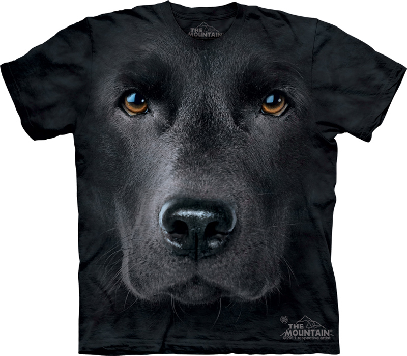 Black lab shirt tie dye dog face t shirt adult tee lab for Dog t shirt for after surgery