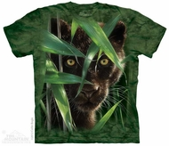 Black Panther Shirt Tie Dye Adult T-Shirt Tee