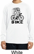 Black Penguin Power Bike Kids Moisture Wicking Long Sleeve Shirt