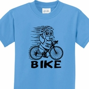 Black Penguin Power Bike Kids Shirts