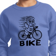 Black Penguin Power Bike Kids Sweat Shirt