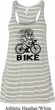 Black Penguin Power Bike Ladies Flowy Racerback Tanktop
