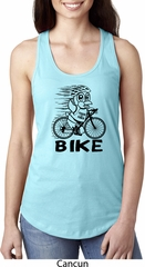 Black Penguin Power Bike Ladies Ideal Tank Top